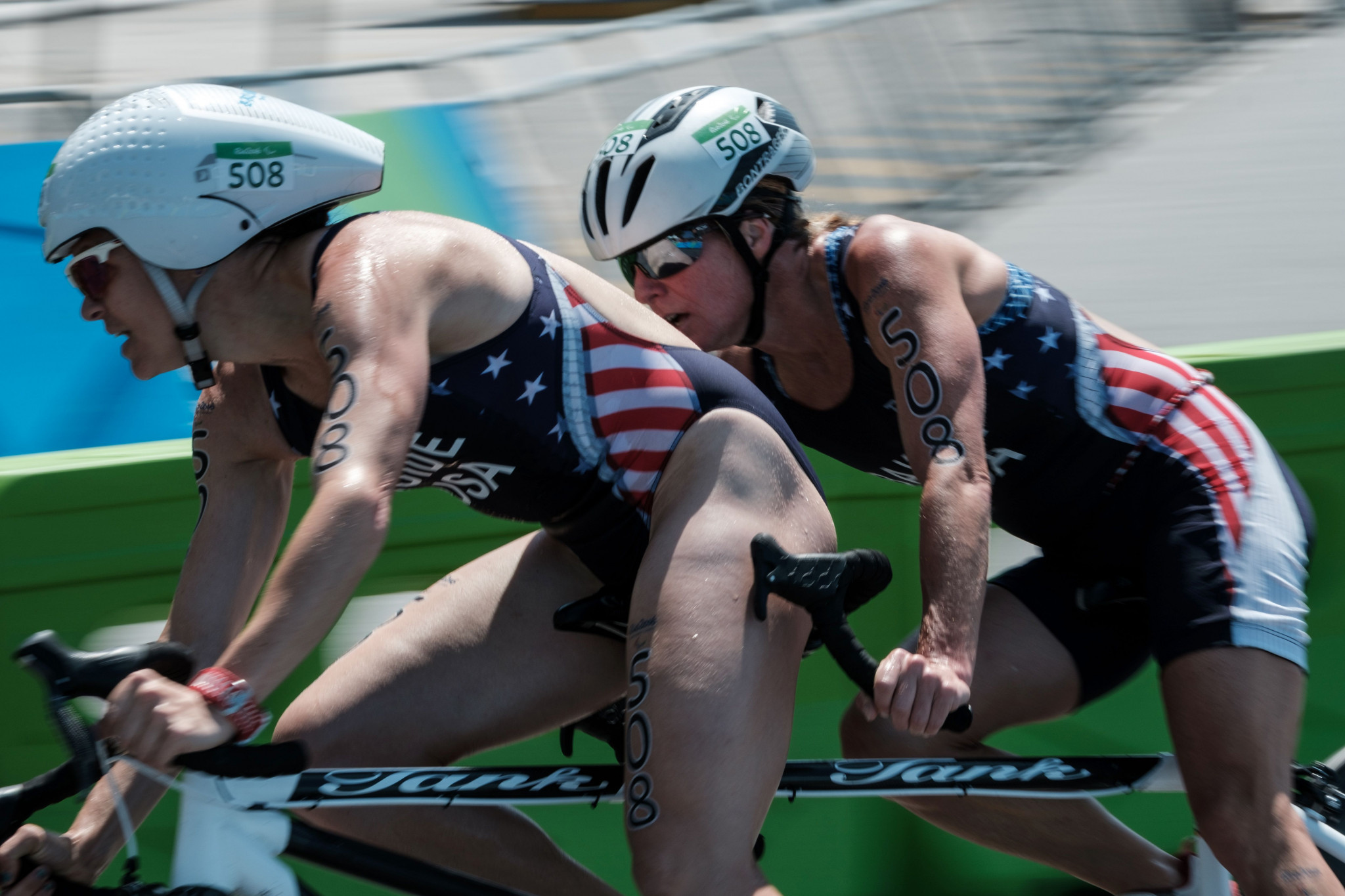 It is hoped offering prize money at the Paratriathlon National Championships will create a watershed moment for the sport in the United States ©Getty Images