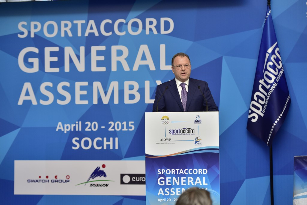 Changes were made following the resignation of former President Marius Vizer last May ©SportAccord