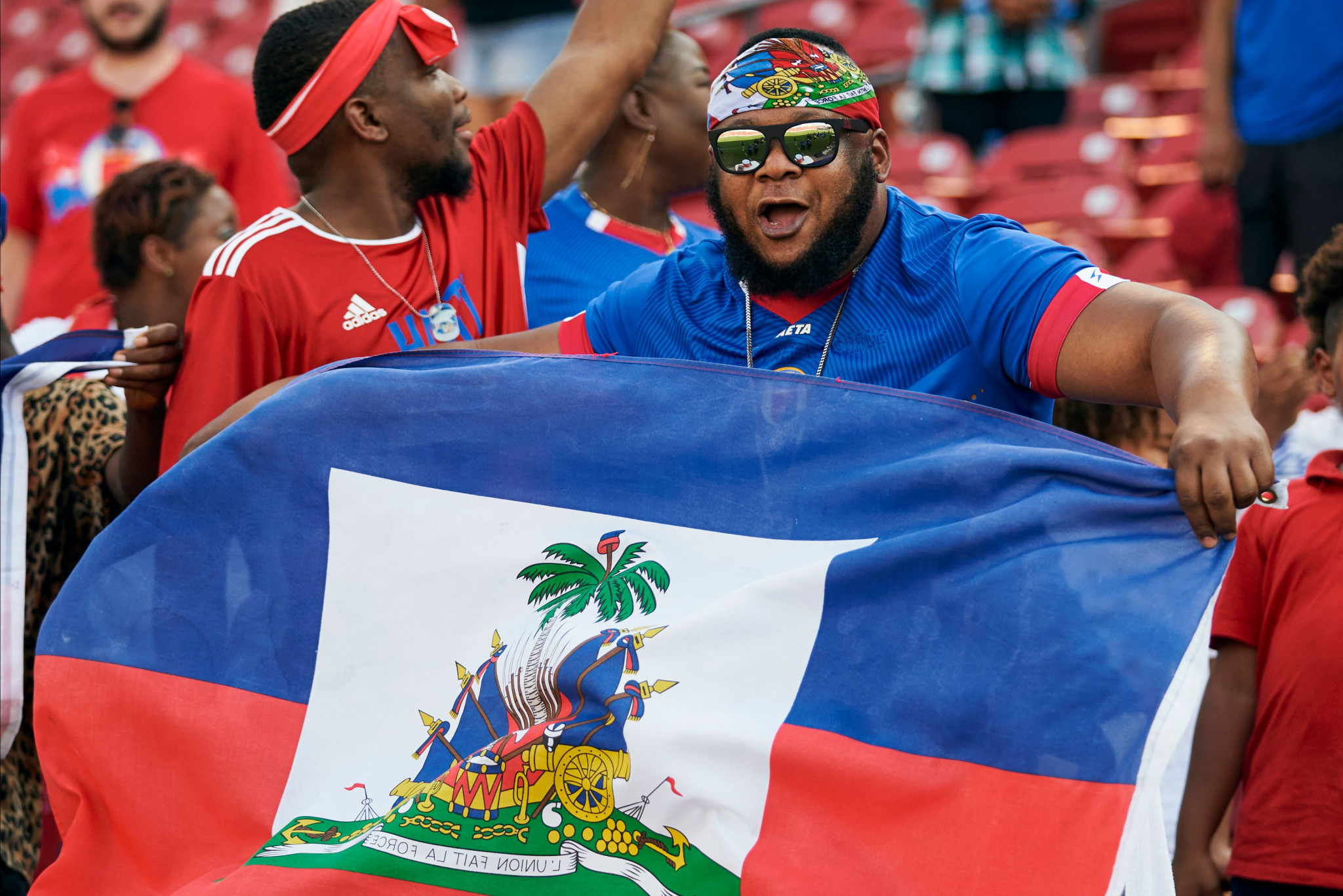 Haiti progressed to the knock out stage after earning their second win ©Getty Images