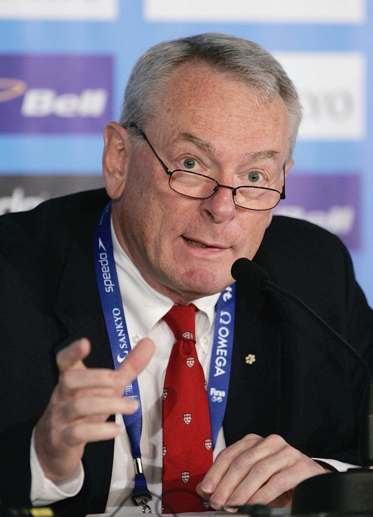 Canada's Richard Pound has become the senior IOC member ©Getty Images