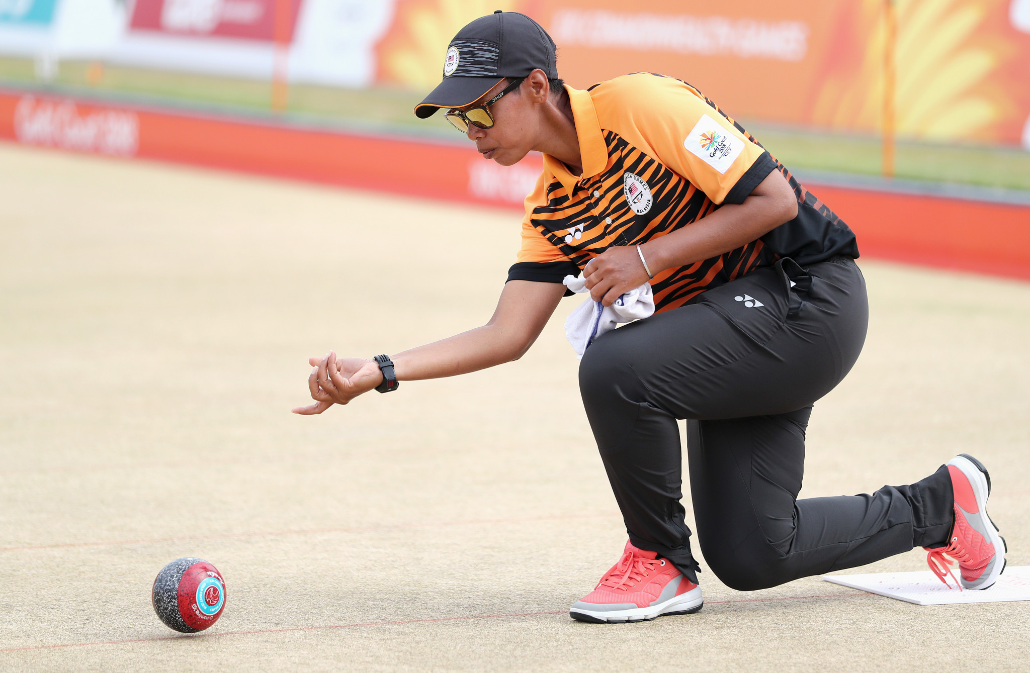 Malaysia's Siti Zalina Ahmad was one of the two beaten semi-finalists ©Getty Images