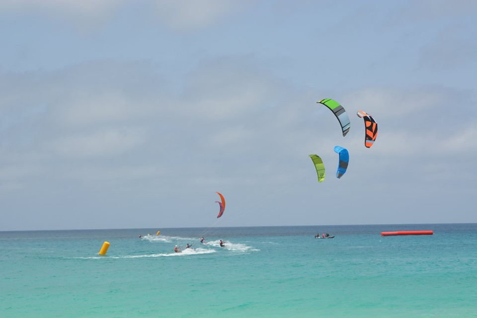 Mauritian claims double gold in kiteboarding at African Beach Games