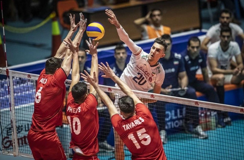 Iran stay top of Volleyball Men's Nations League after hard-fought win over Portugal