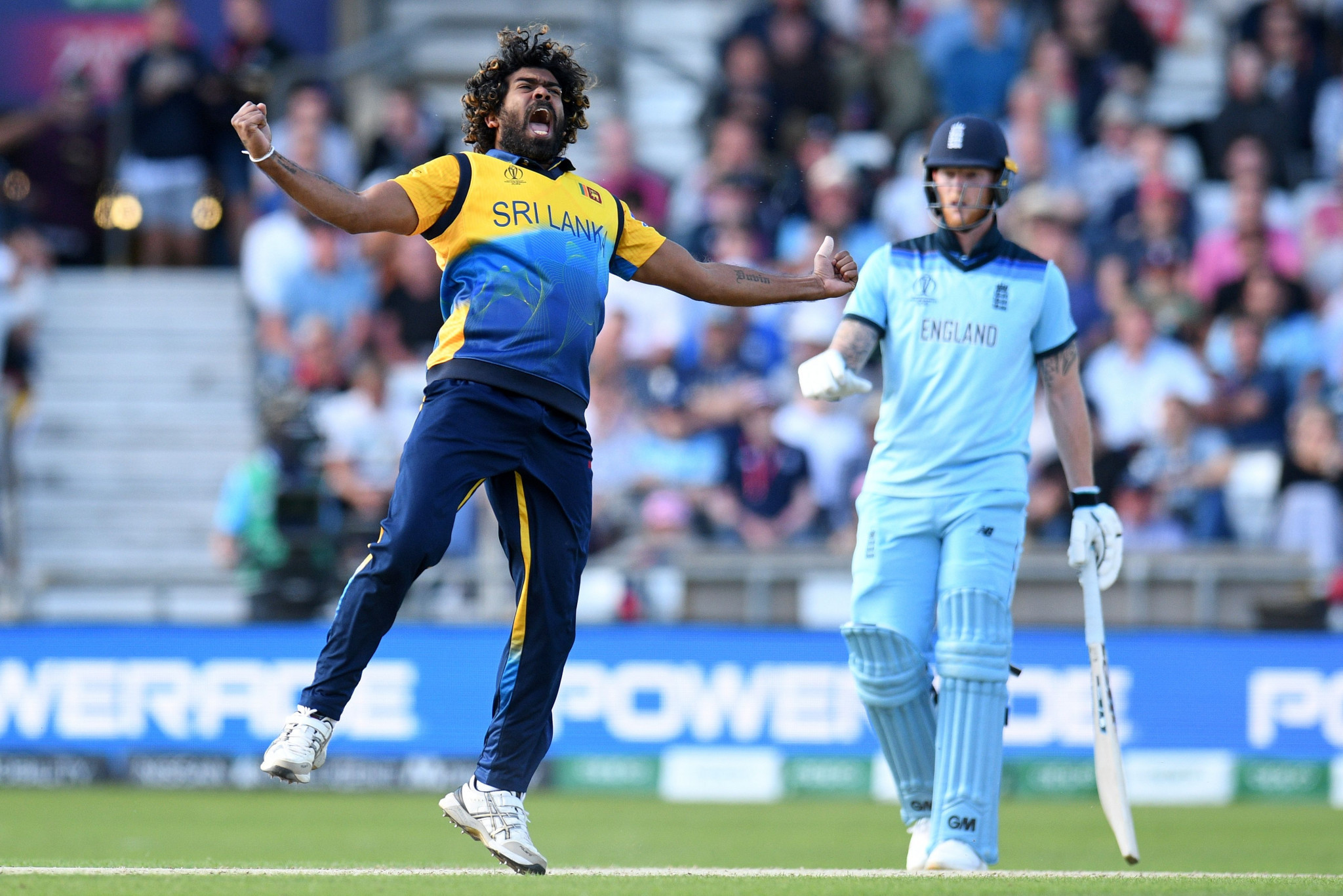 Sri Lanka stun England to blow race for semi-final places wide open at Cricket World Cup