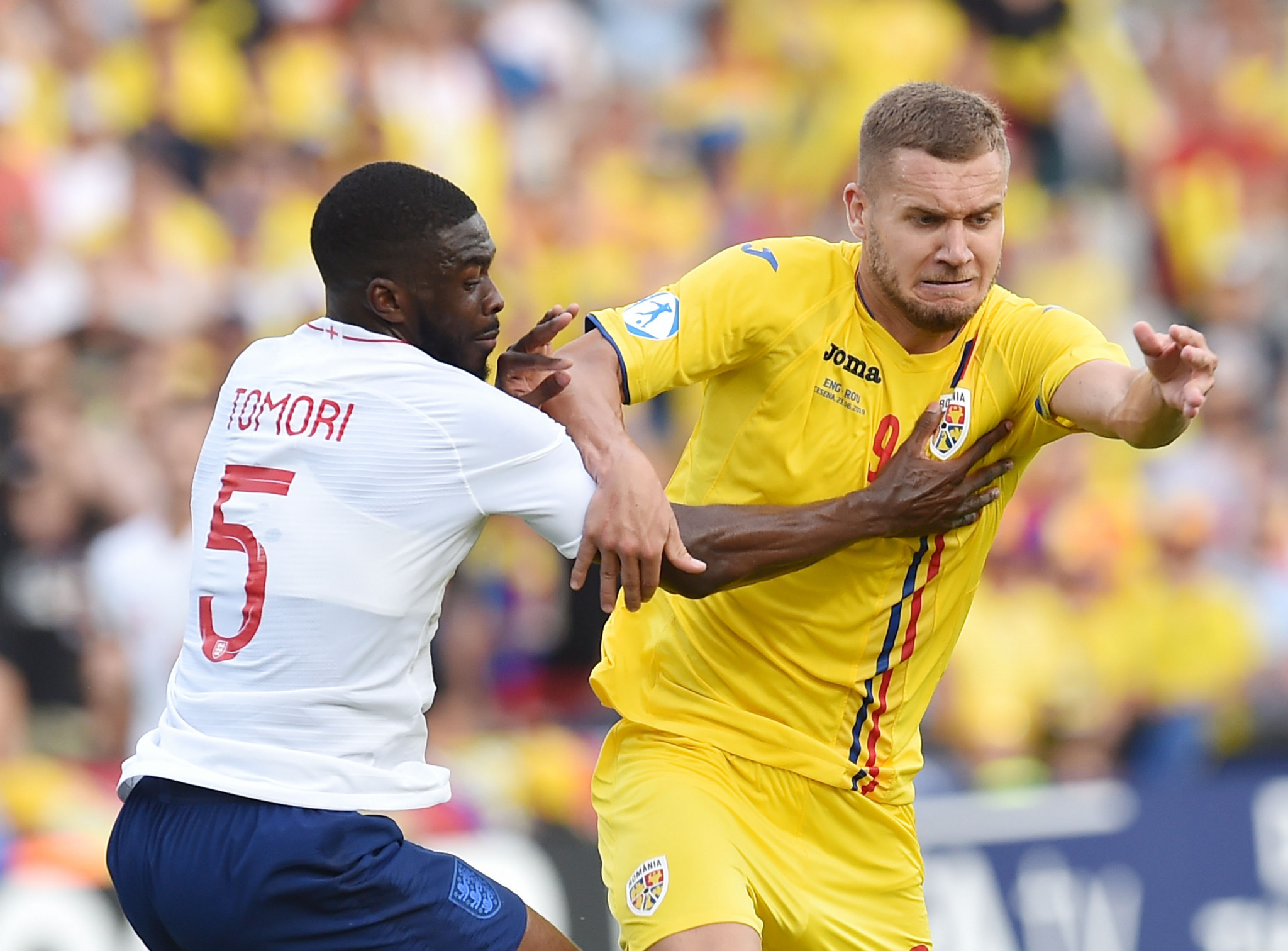 Romania's victory saw England crash out of the tournament ©Getty Images