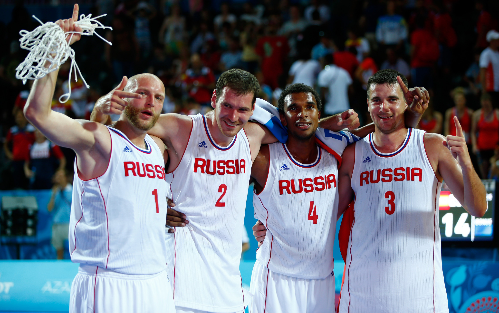 Defending champions Russia impress in 3x3 basketball as Minsk 2019 sporting action begins