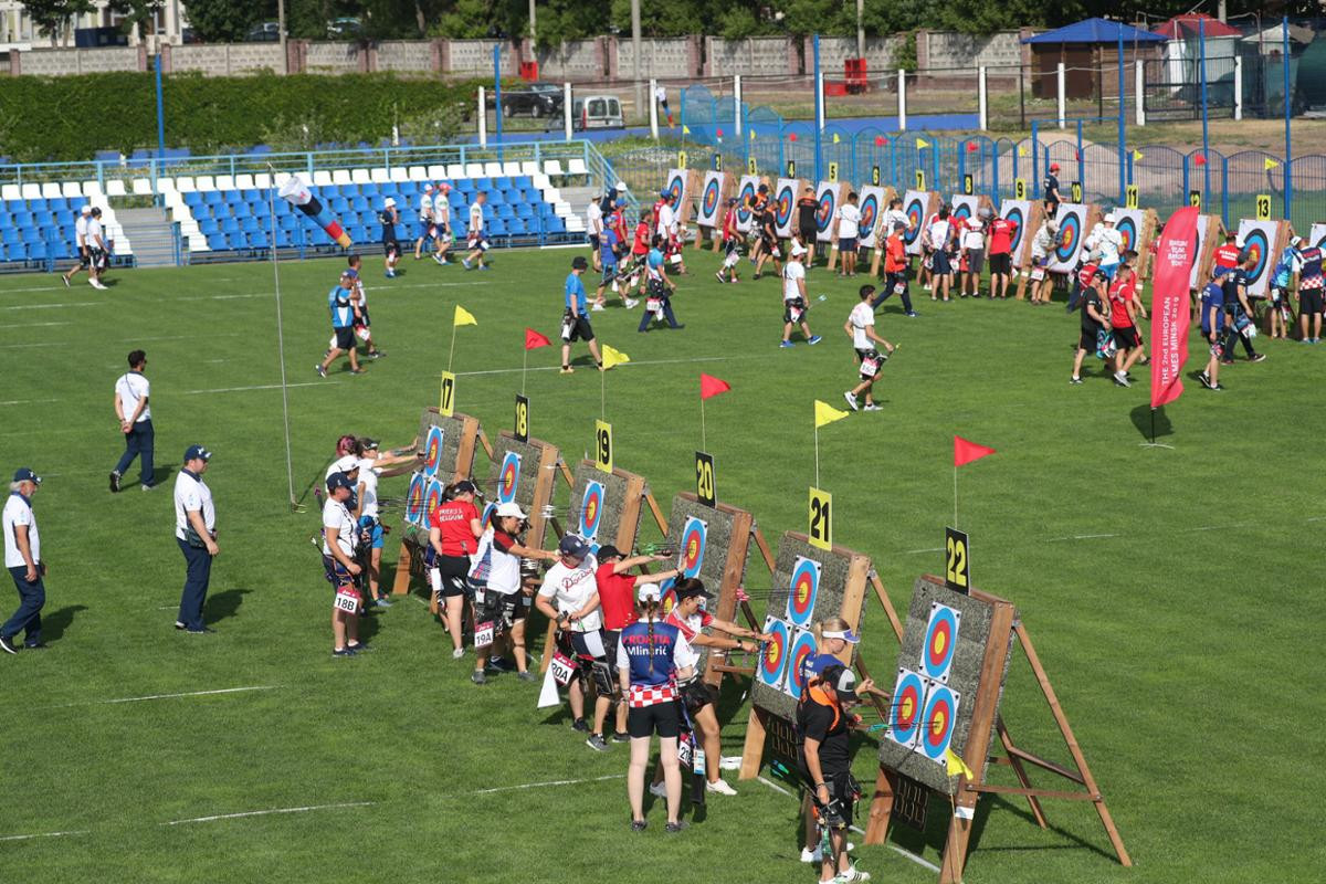 The expected names dominated during the archery qualification rounds at the Olympic Sports Complex ©Minsk 2019