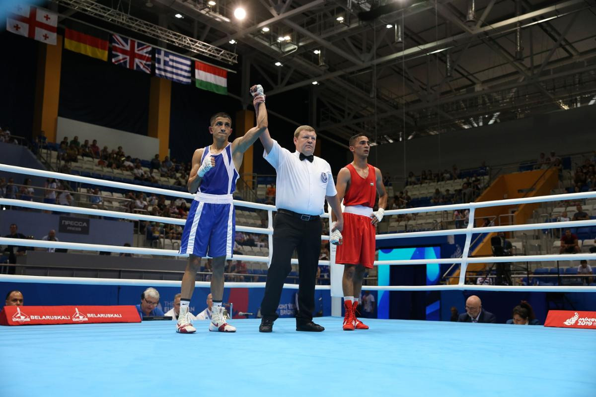 A number of preliminary-round boxing bouts took place at Uruchie Sports Palace ©Minsk 2019