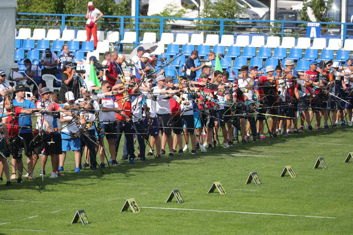 Archery also got under way at the Olympic Sports Complex ©Minsk 2019