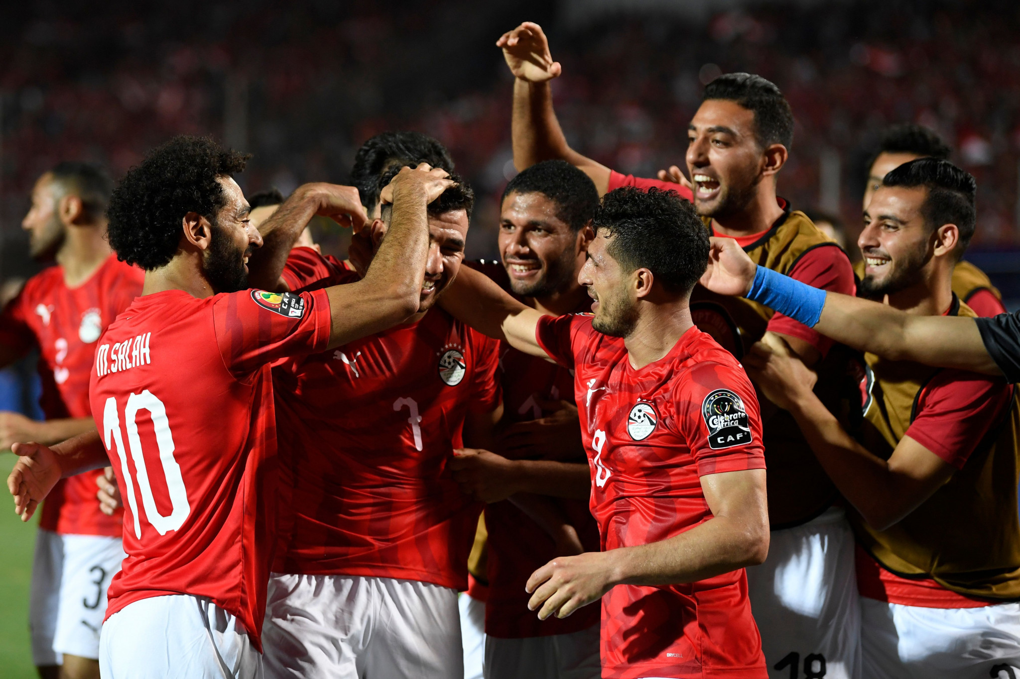 Mahmoud Trezeguet scored the only goal of the game as hosts Egypt beat Zimbabwe ©Getty Images