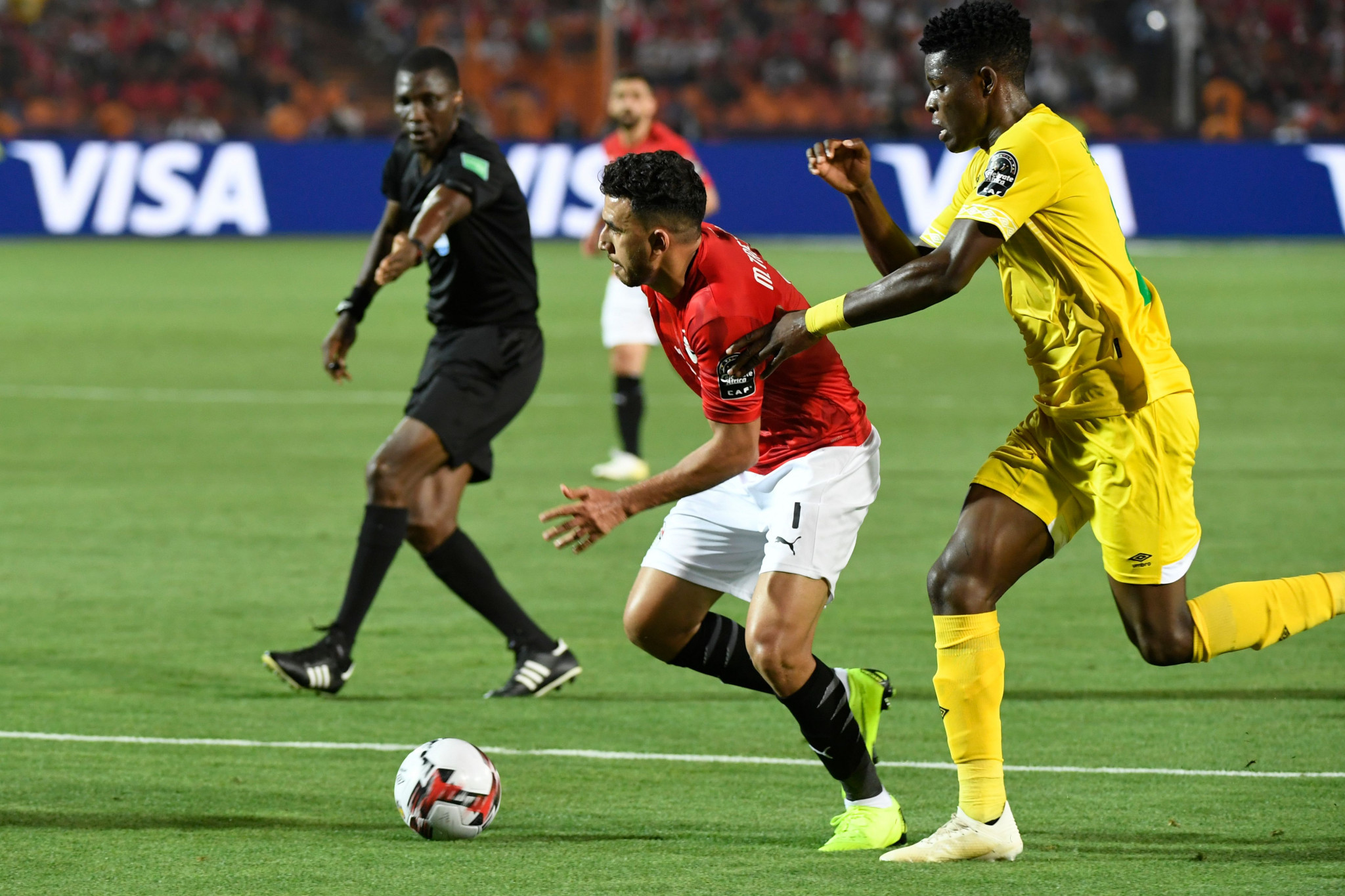 Egypt beat Zimbabwe 1-0 in Cairo to get their campaign off to a winning start ©Getty Images