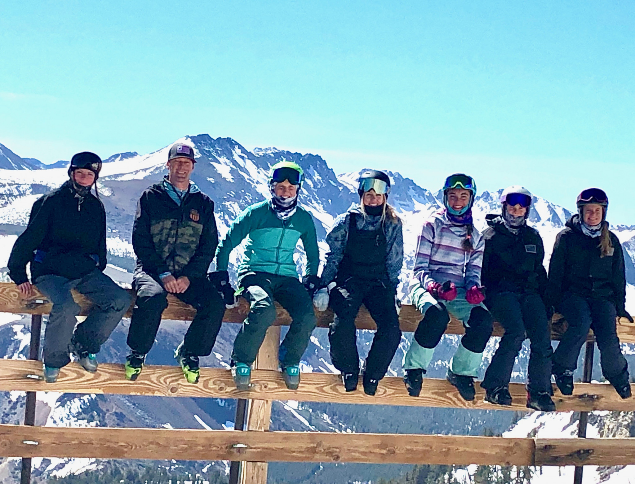 Young American freeskiers and snowboarders experience Project Gold with Olympic coaches and facilities