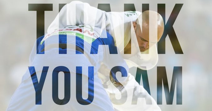 JudoScotland posted a tribute to Sam Ingram on Twitter ©Twitter