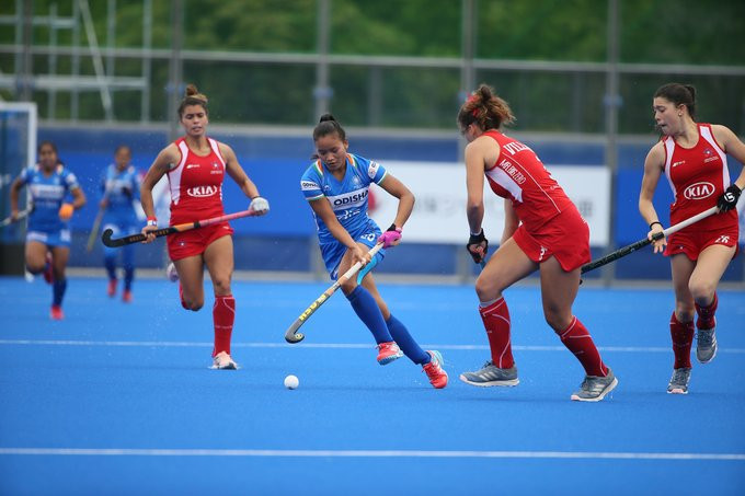 India progress to Olympic qualifier with victory over Chile at FIH Women's Series Finals