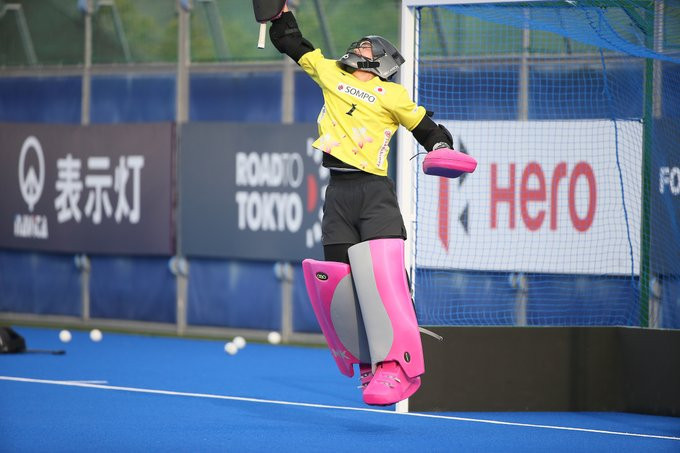 Japan joined India in the final following a shootout victory over Russia ©FIH