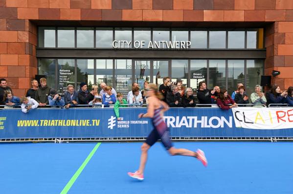 Antwerp to host sprint distance ITU World Cup race