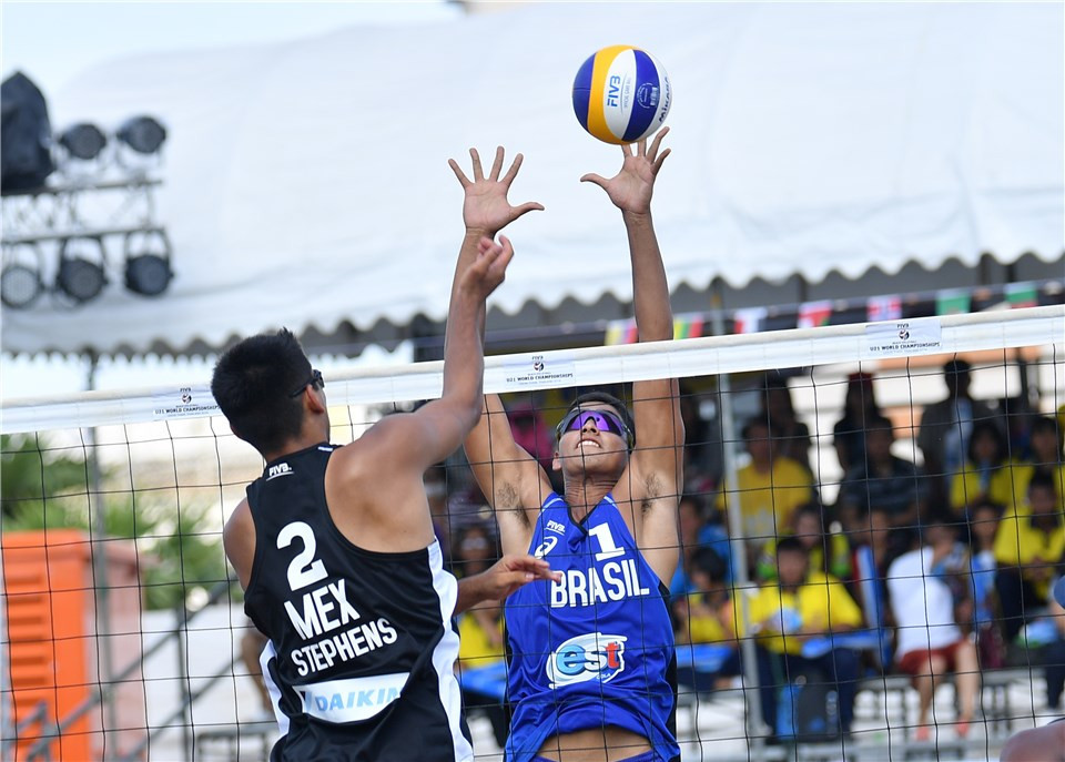 Brazilian twins and Italian duo reach men's Beach Volleyball Under-21 World Championships final