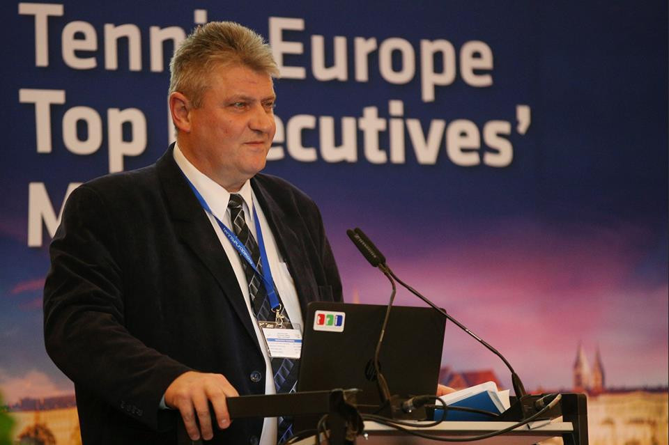 Czech Republic's Ivo Kaderka is among four candidates standing for ITF President ©Facebook