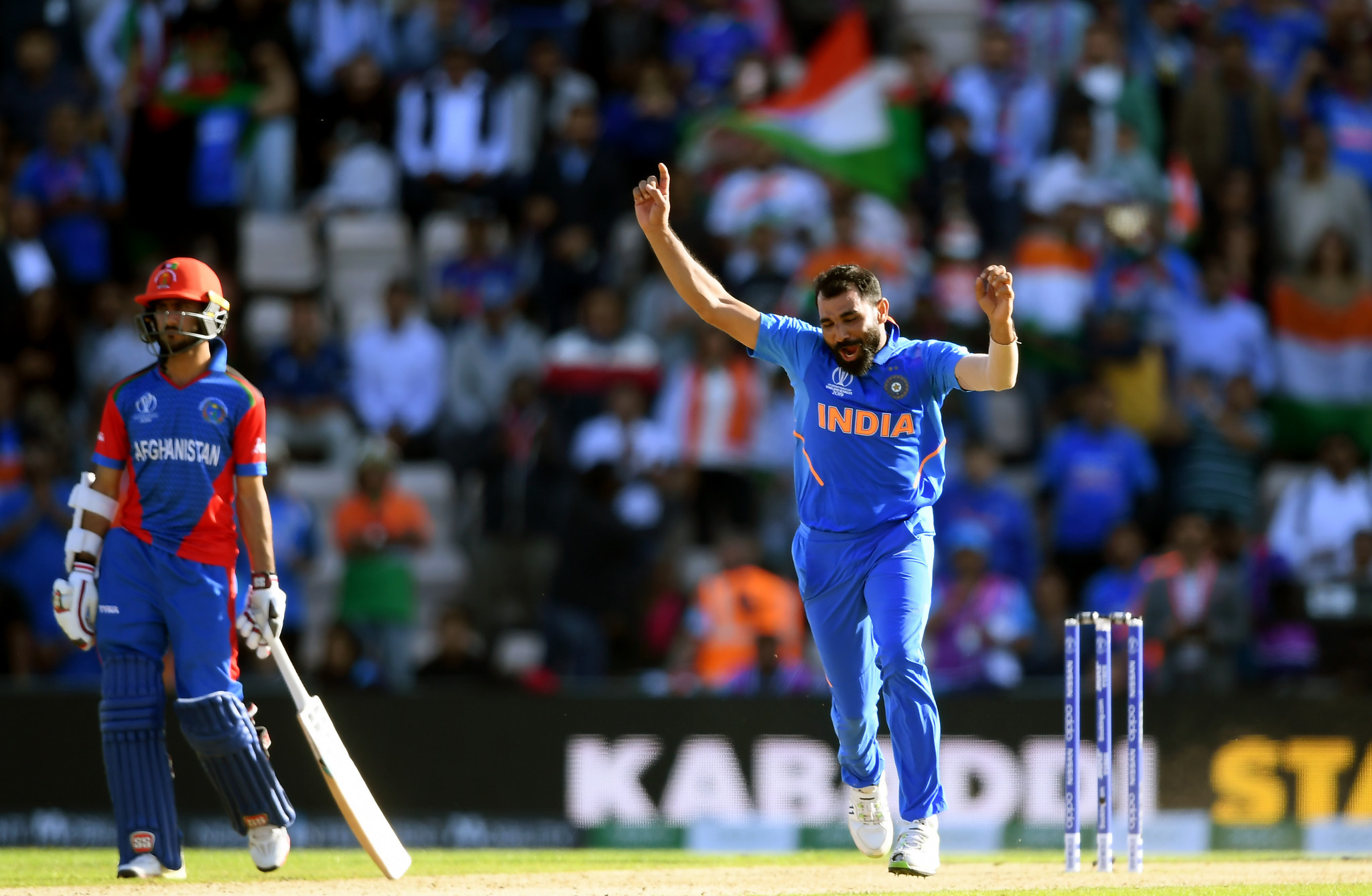 India narrowly avoid Afghanistan shock at Cricket World Cup