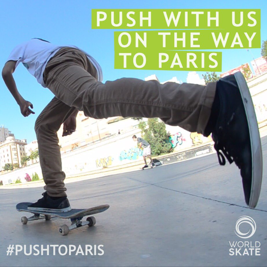 World Skate calls on supporters to show backing for skateboarding's inclusion at Paris 2024
