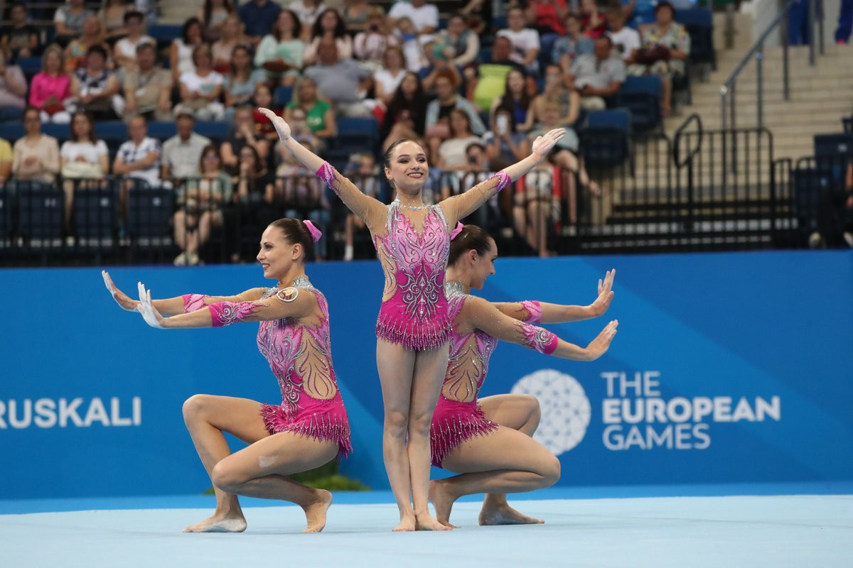 Belarus delight home crowd with two acrobatic gymnastics gold medals at Minsk 2019 European Games