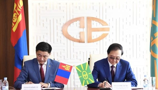 Mongolian Sports Minister signs Memorandum of Understanding to boost Tokyo 2020 hopes