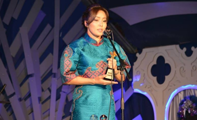 Judoka Dorjsürengiin Sumiyaa of Mongolia claimed an Olympic silver in the women's under-57 kilograms Rio 2016 ©MNOC