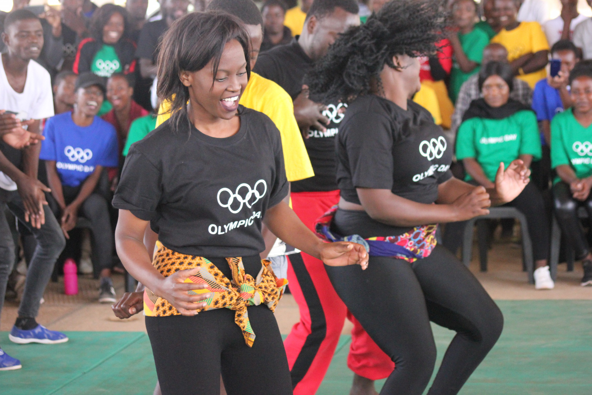 Olympic Day celebrations were here in Lusaka, Kabwe and Kitwe ©NCOZ