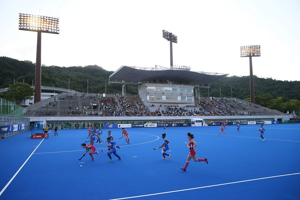 India pulled away after the break to win the final in Hiroshima ©FIH