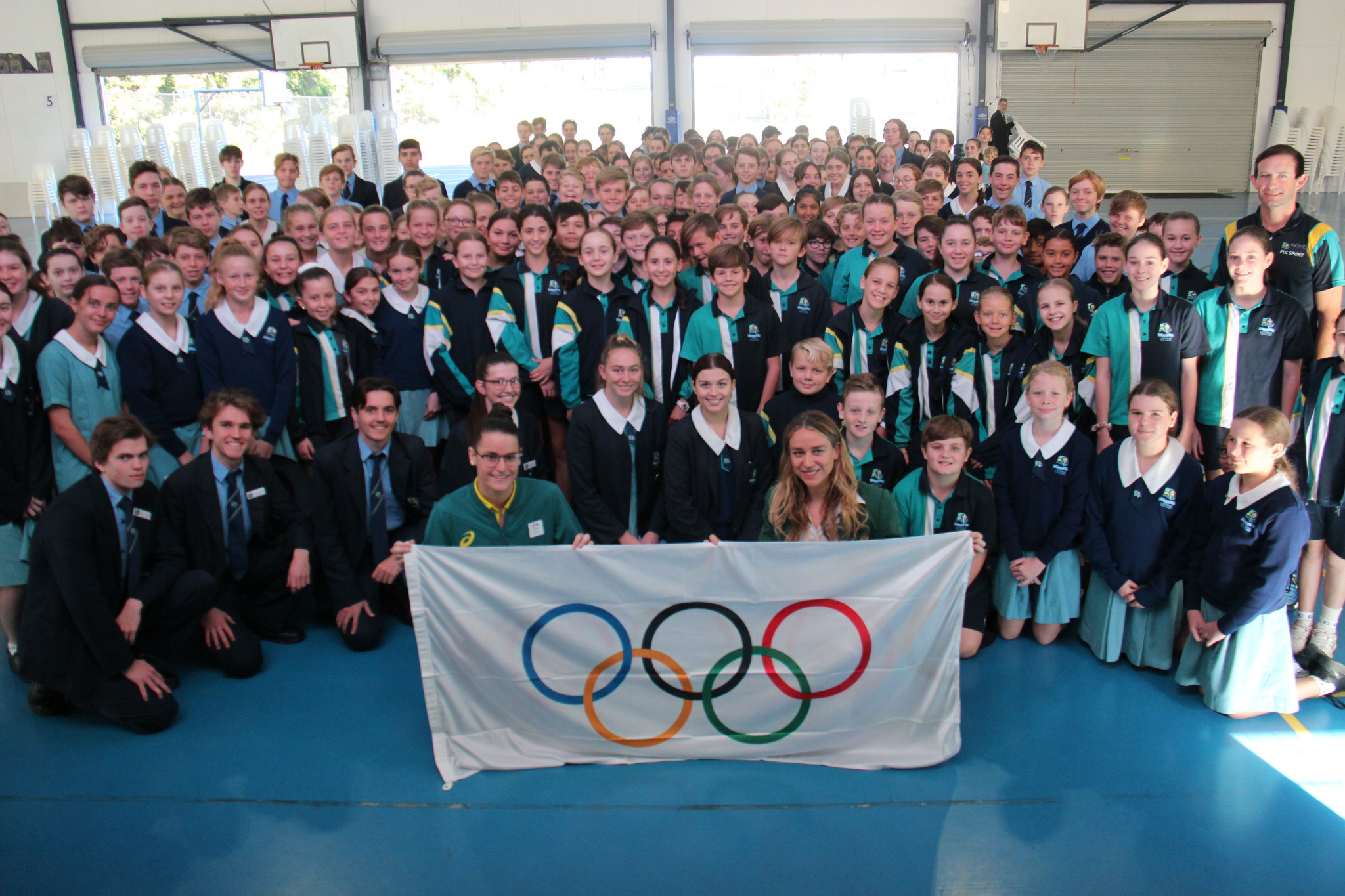 Australian athletes spread Olympic Day spirit in schools and hospitals