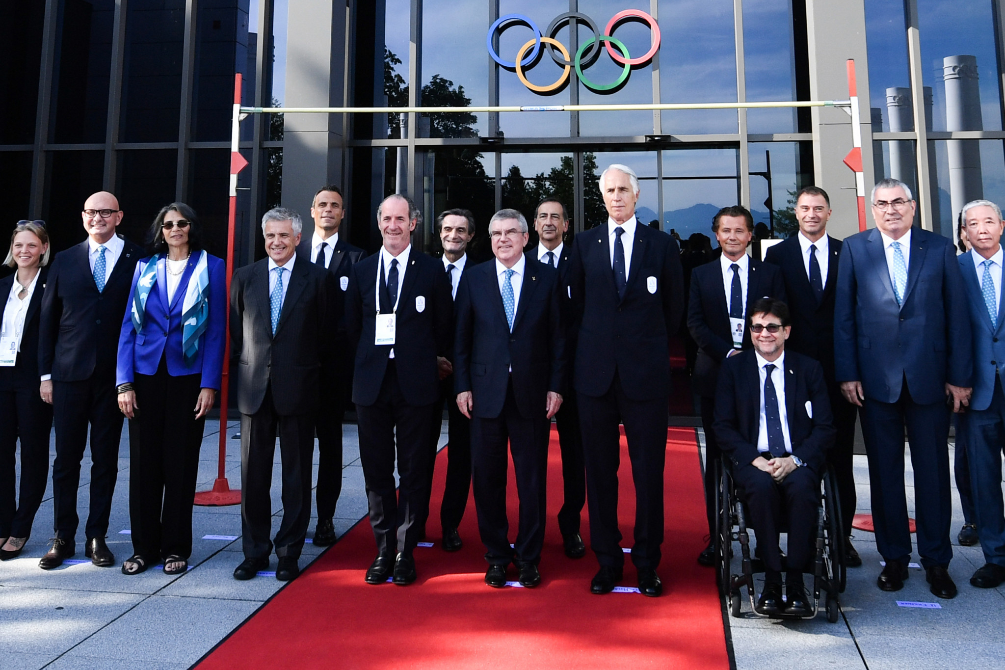 The Milan Cortina 2026 team held a meeting with the IOC this evening ©Getty Images