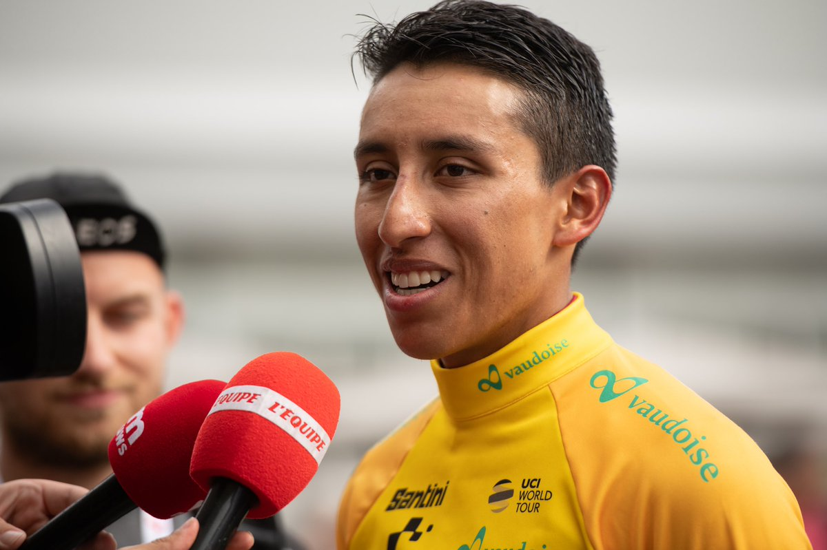 Bernal clinches overall title at Tour de Suisse as Cathy solos to stage win
