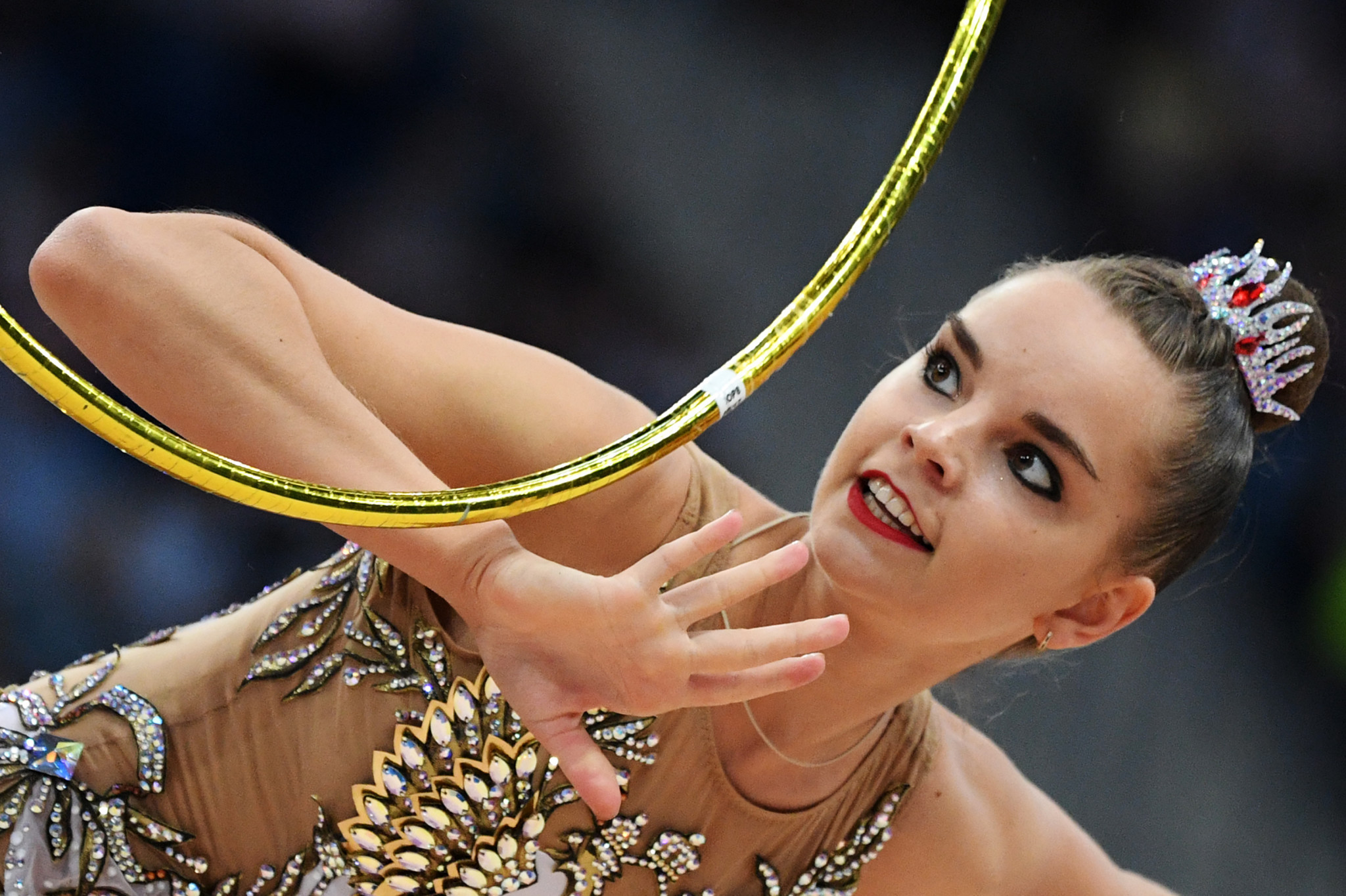 The second was in the women's hoop competition ©Minsk 2019