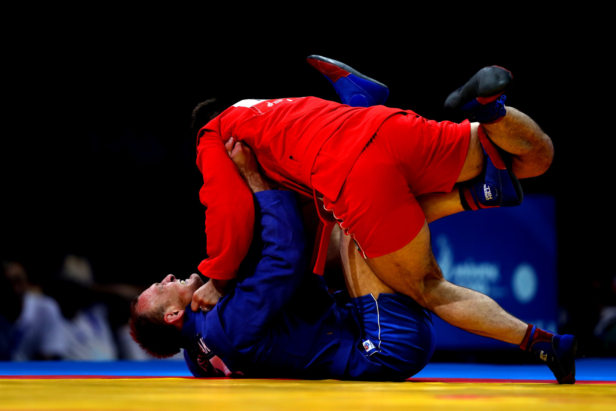 Other sports were taking place across the city, with sambo concluding at the Sports Palace ©Minsk 2019