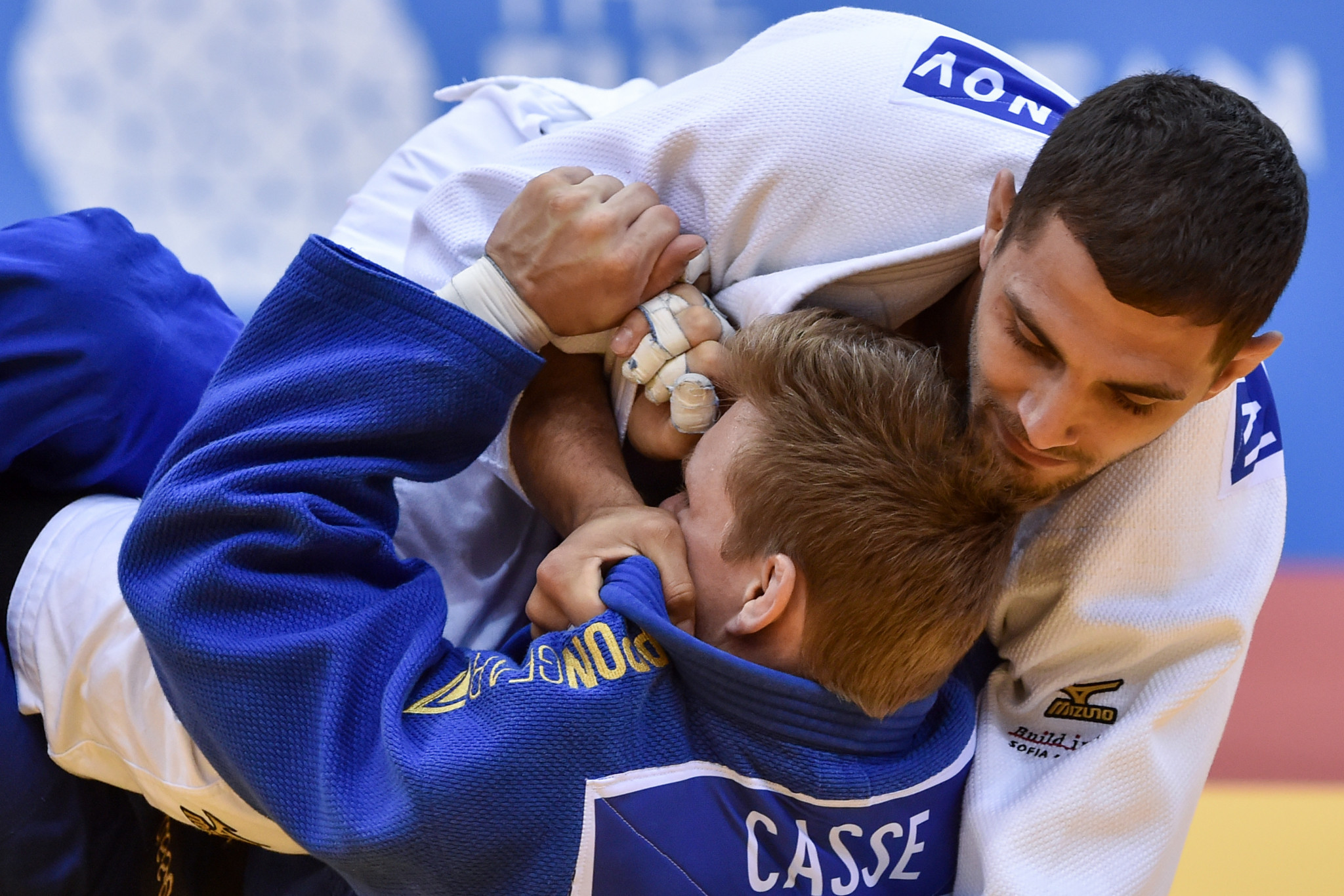 The second day of judo action also took place at Čyžoŭka-Arena ©Minsk 2019