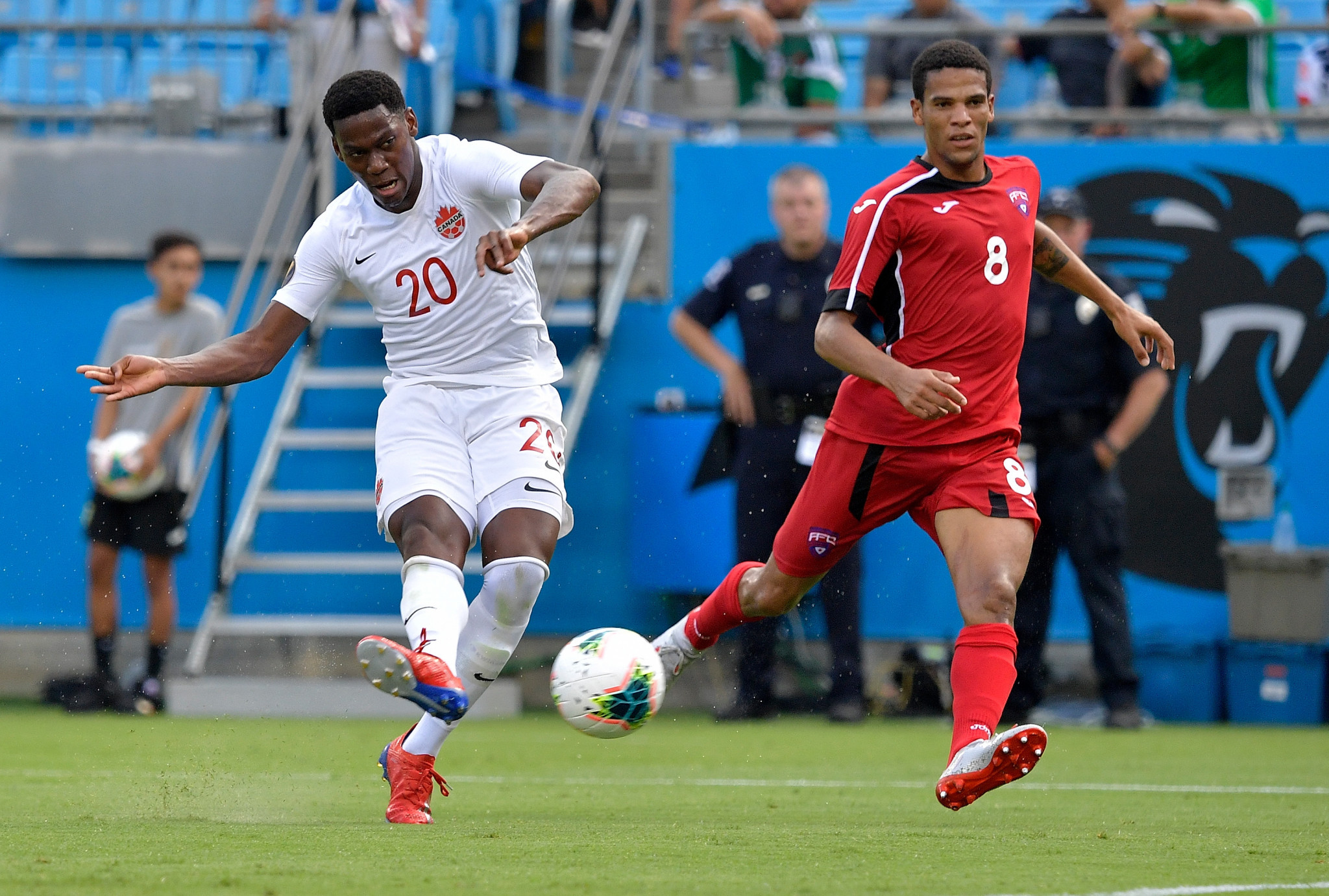 Canada thrash Cuba to reach Gold Cup quarter-finals