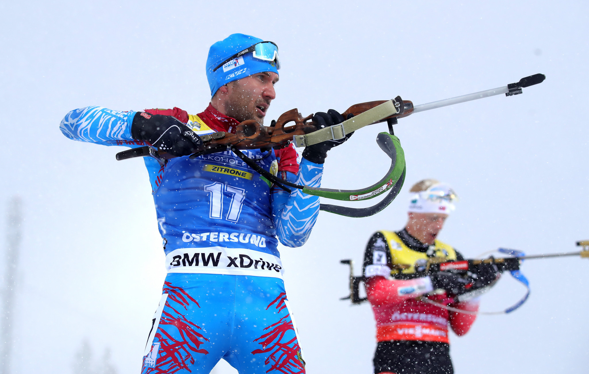 Garanichev signs contract to compete with Russian Biathlon Union