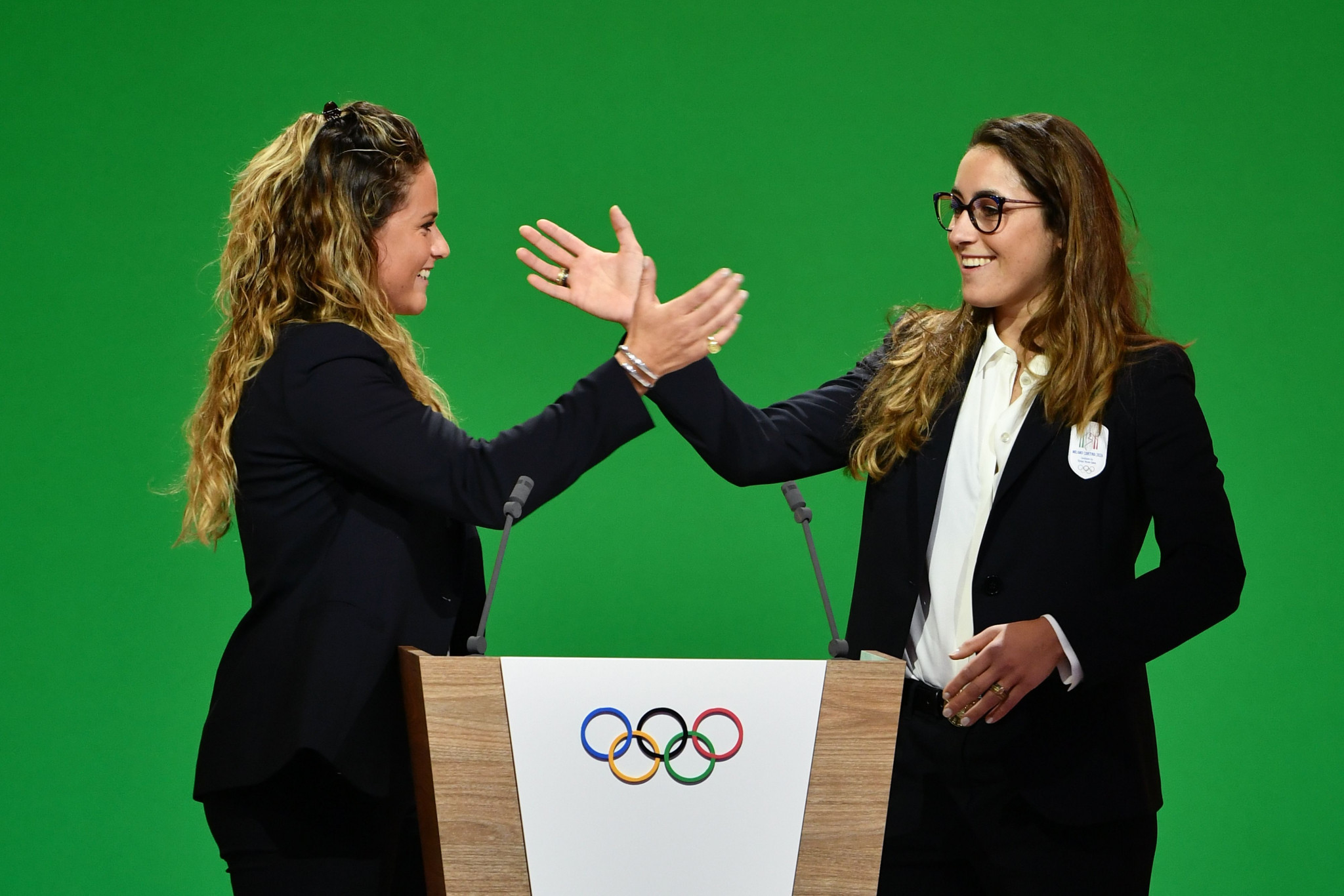 Italian athletes make passionate plea for Milan Cortina 2026 to be awarded Winter Olympic and Paralympics