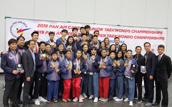 USA Taekwondo congratulates athletes after medal table-topping performance at Pan American Cadet and Junior Poomsae Championships