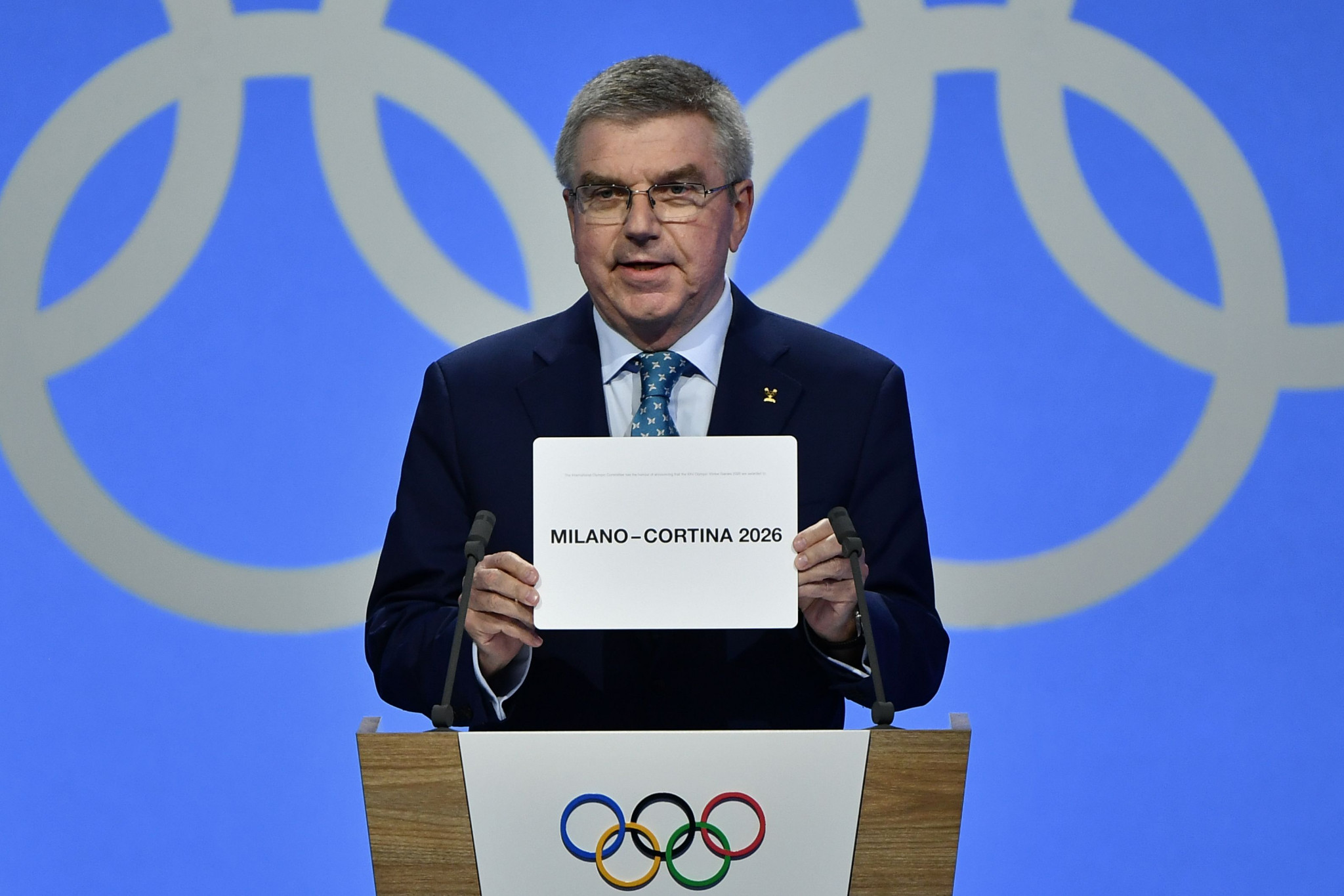 Swedish PM Lofven says country ready to host 2026 Winter Olympic Games