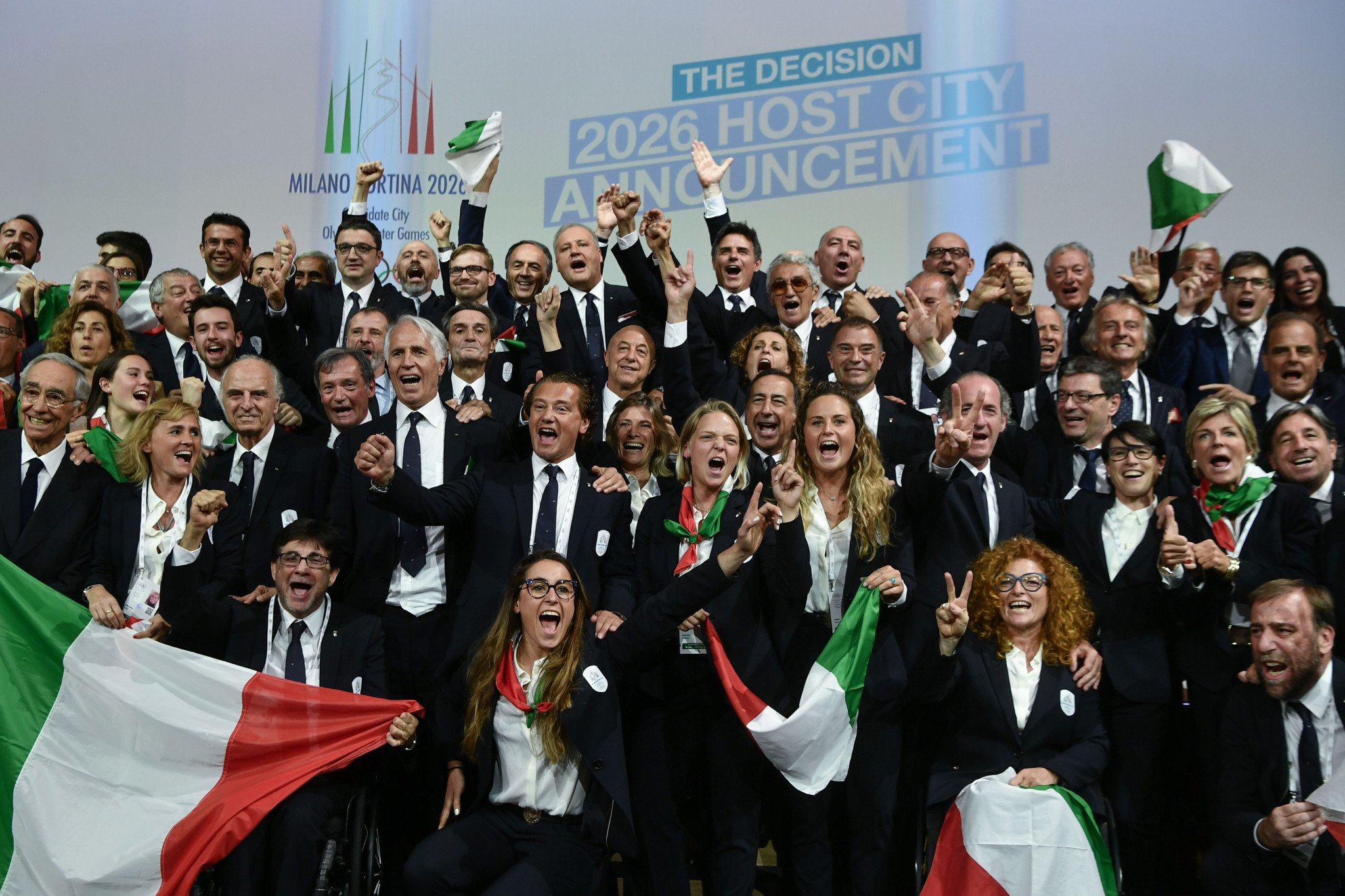 International Olympic Committee awards Italy as host of 2026 Winter Olympics