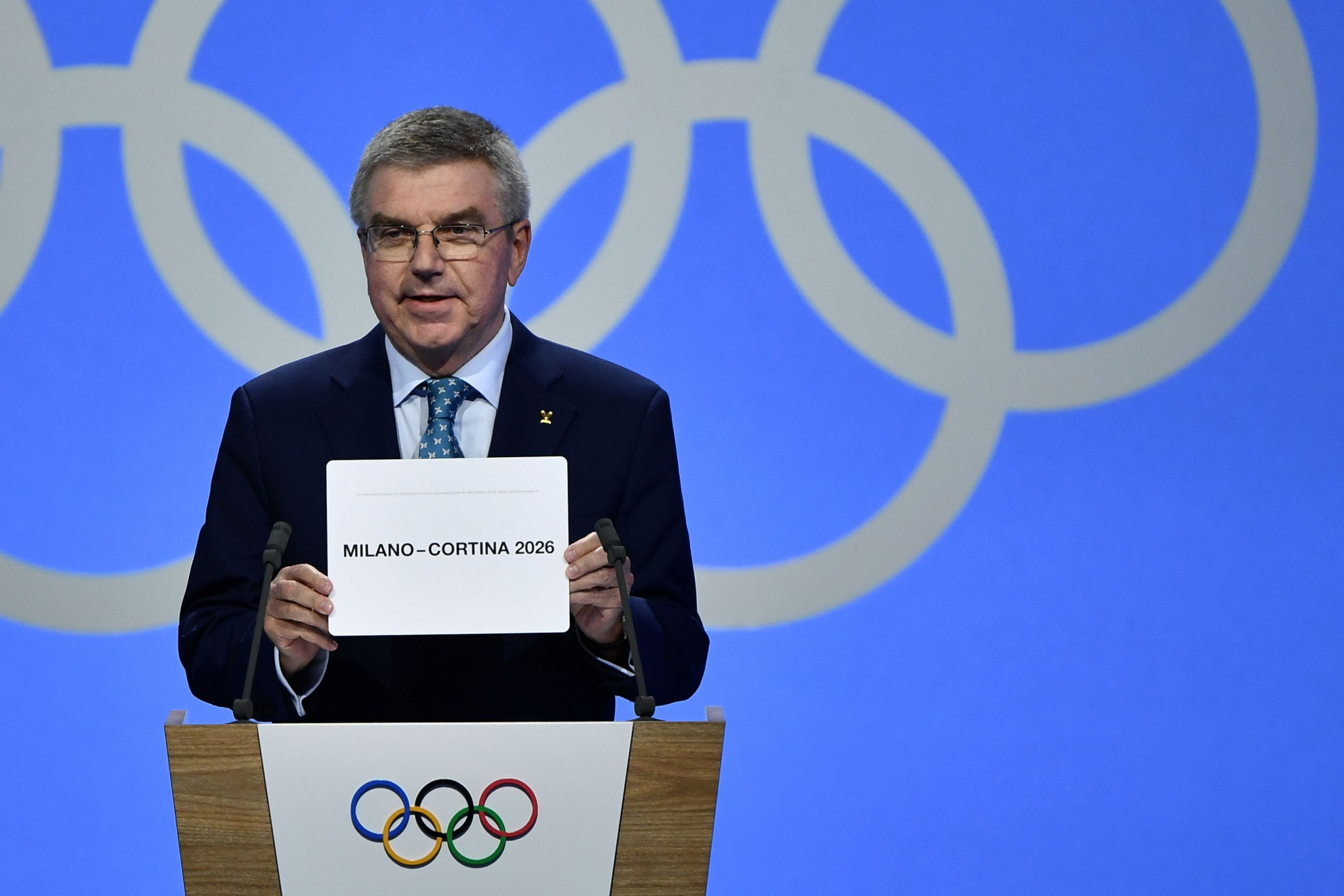 Italians win vote to host 2026 Winter Olympic and Paralympic Games
