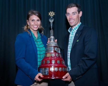 Belcher and Ryan claim Yachting Australia Male Sailor of the Year prize