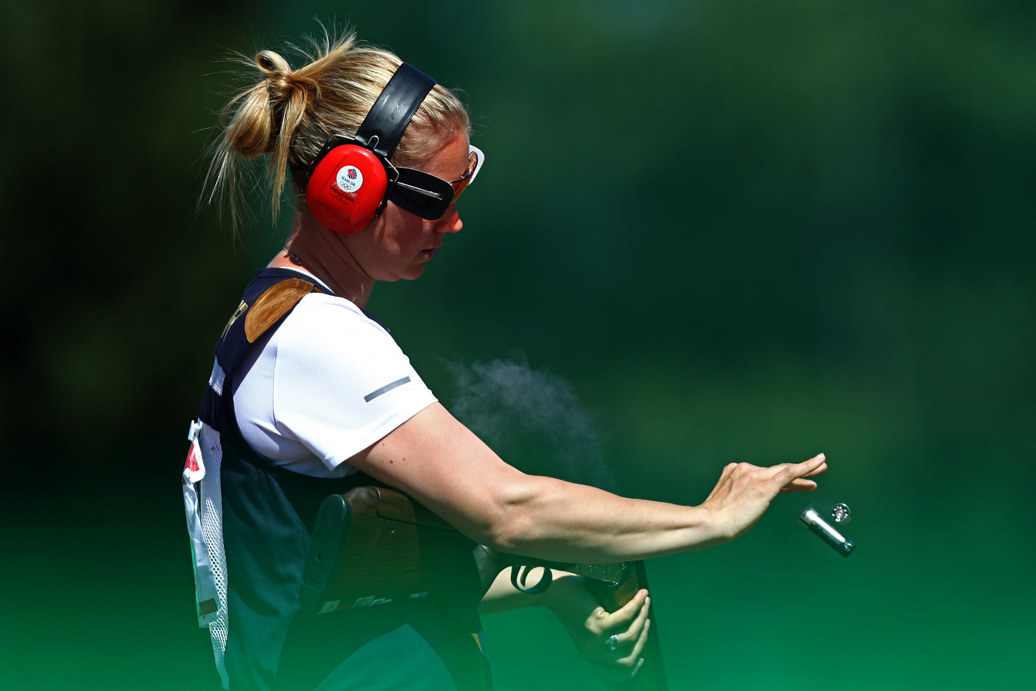 Spain's Bailon and Galvez earn mixed team shotgun trap gold at Minsk 2019