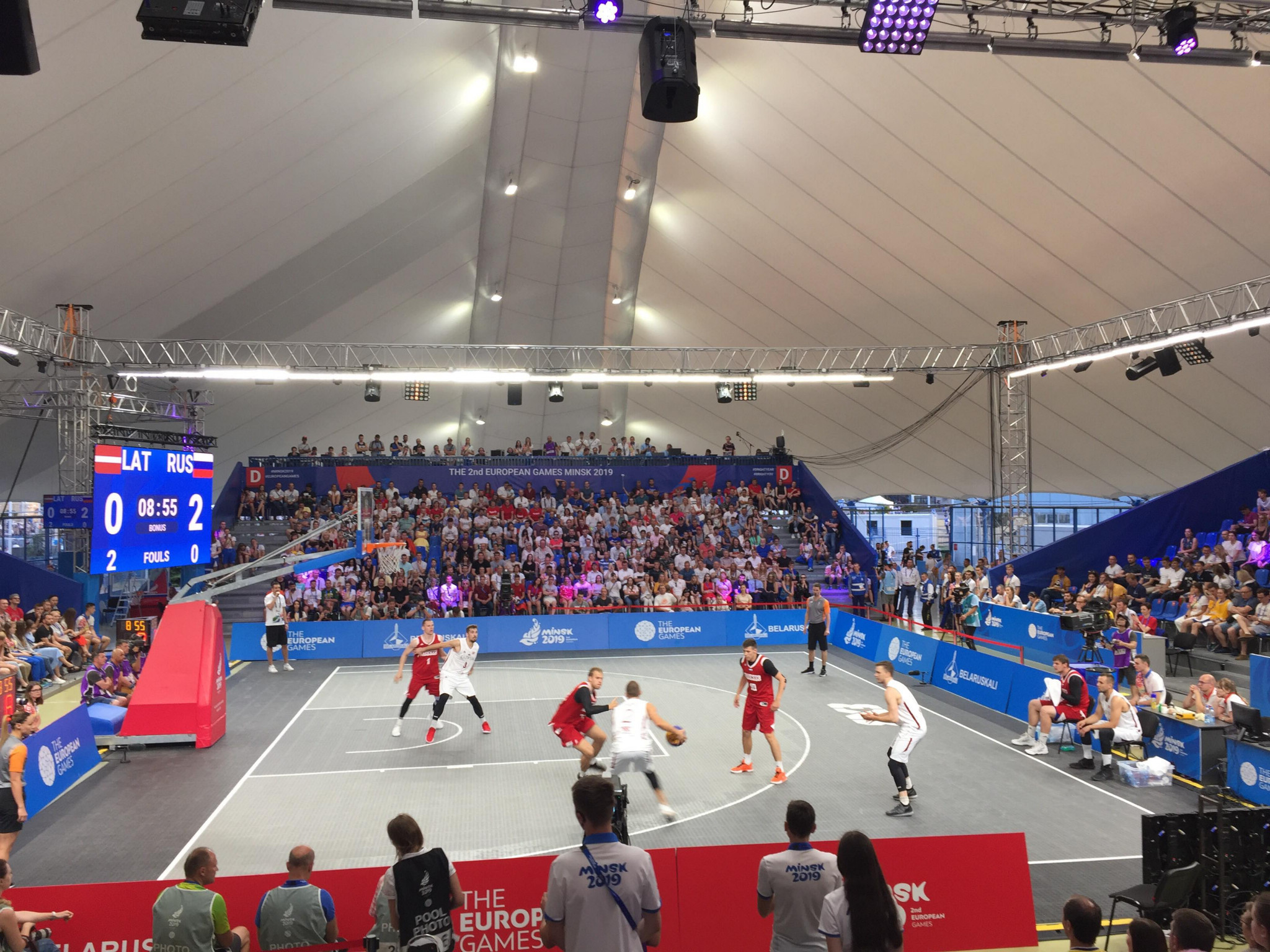Russia show dominance to retain men's 3x3 basketball title at Minsk 2019