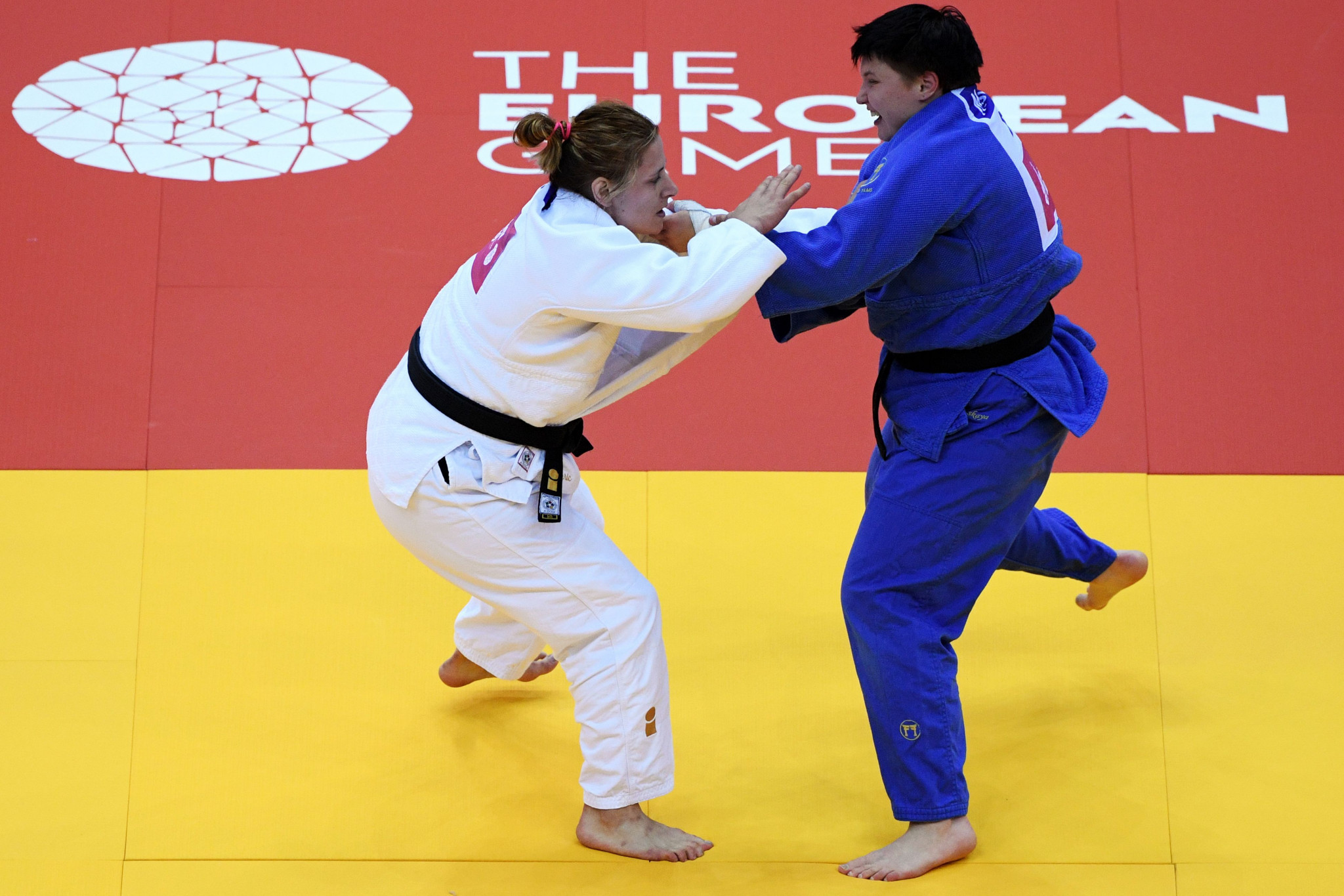 She overcame Bosnia and Herzegovina's Larisa Ceric in the women's over-78kg ©Getty Images