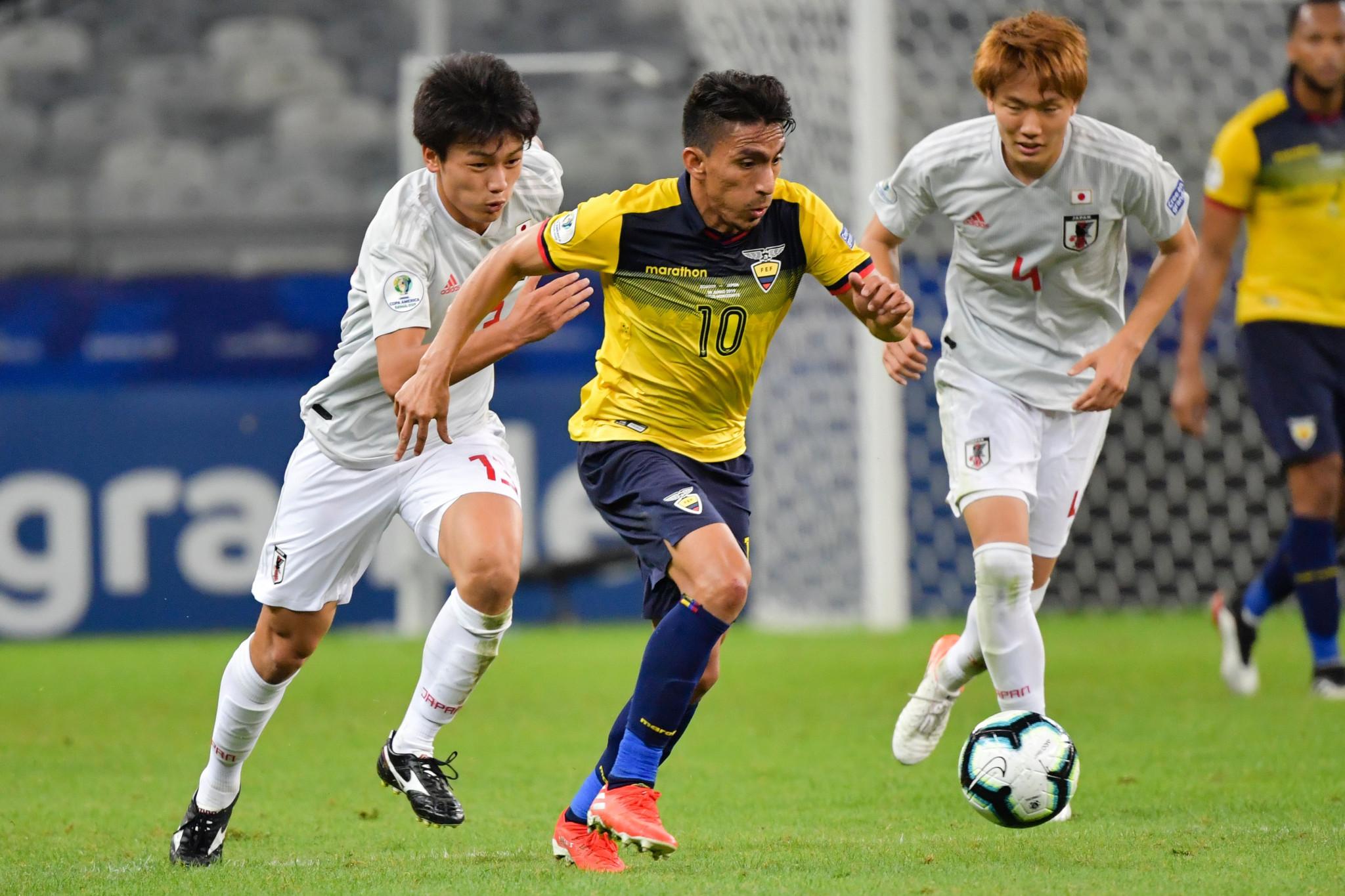 Paraguay sneak into Copa América quarter-finals after Ecuador and Japan draw
