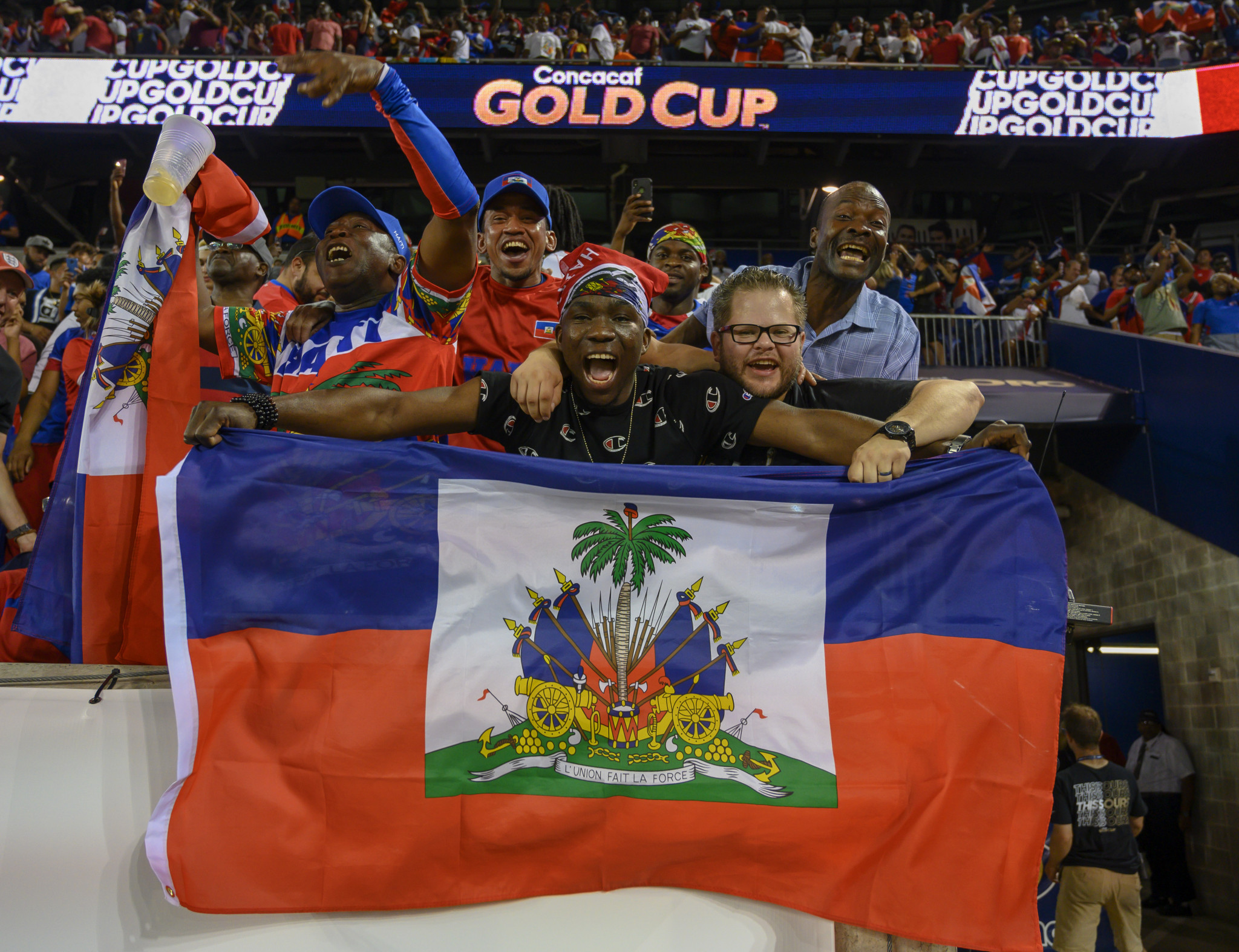 Haiti beat Costa Rica and will play Canada in the last eight of the CONCACAF Gold Cup ©Getty Images