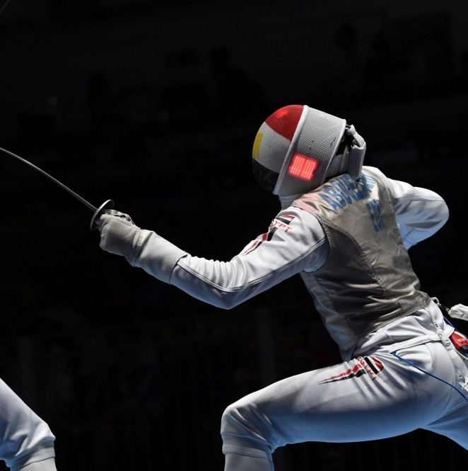 London 2012 Olympic silver medallist Abouelkassem strikes gold at African Fencing Championships