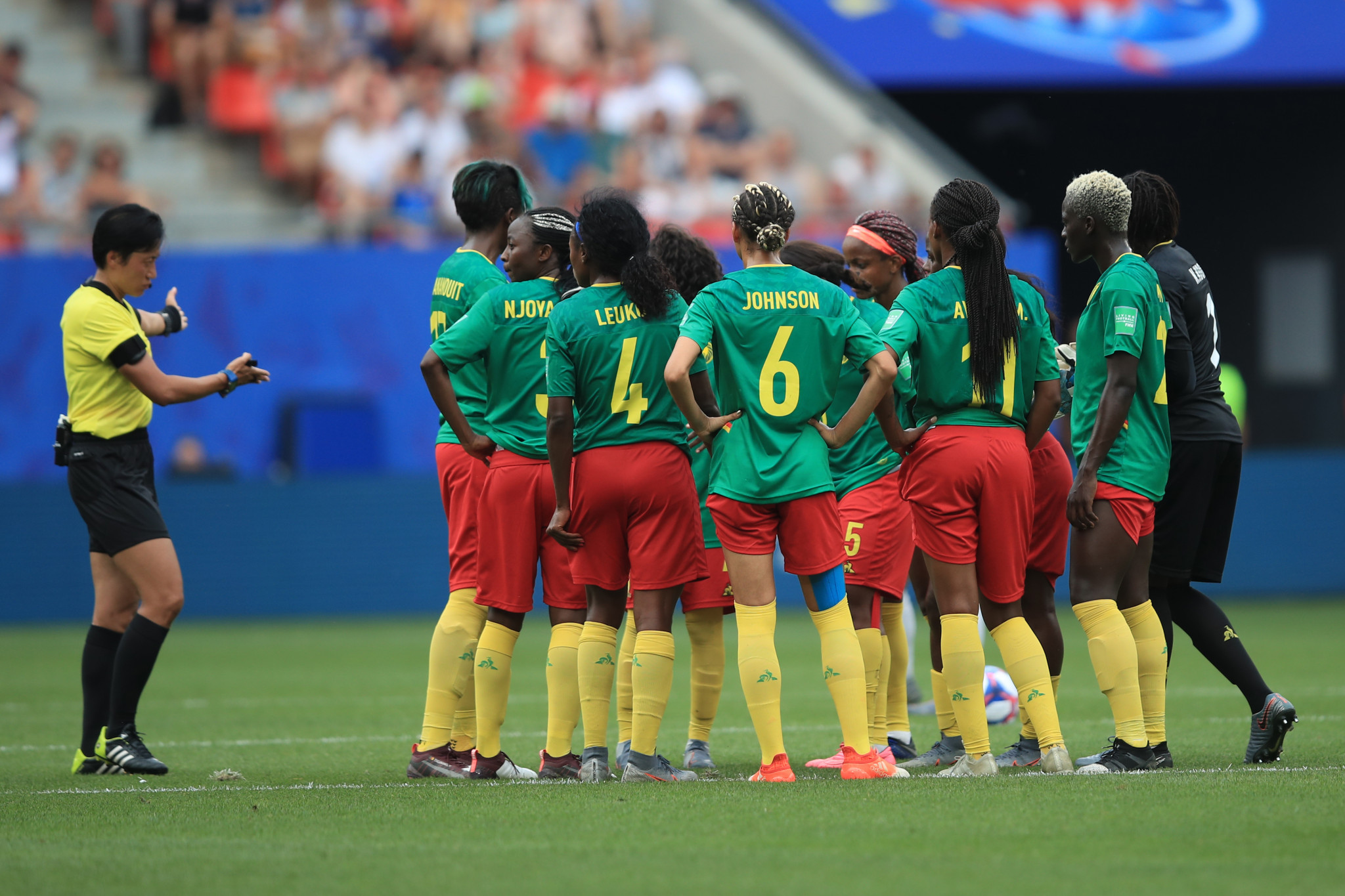 """FIFA """"looking into"""" behaviour of Cameroon's women as top African official adds to criticism"""